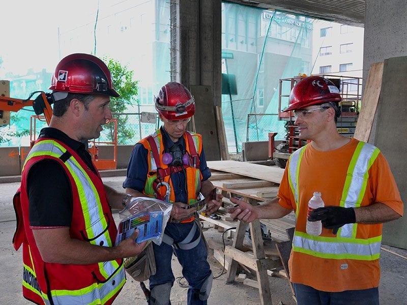 An image of the page Cours desanté et sécurité générale sur les chantiers de construction